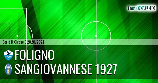 Foligno - Sangiovannese 1927