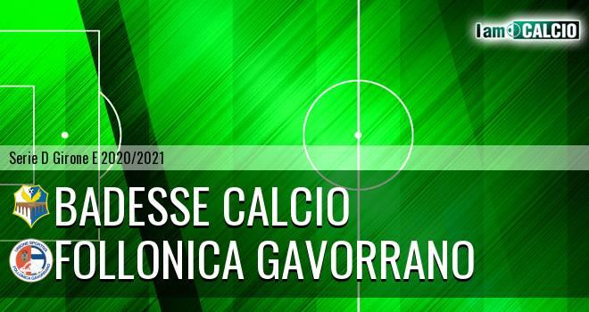 Badesse Calcio - Follonica Gavorrano