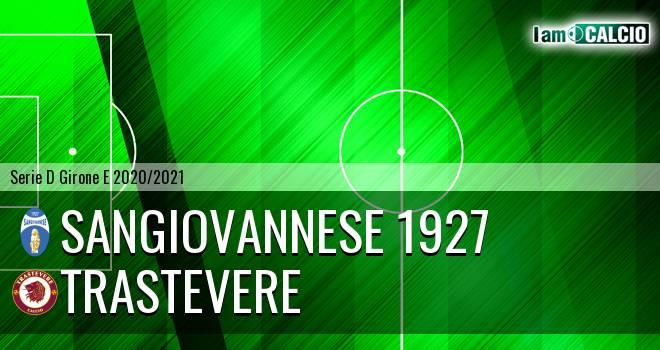 Sangiovannese 1927 - Trastevere