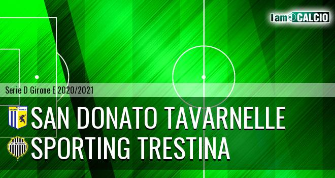 San Donato Tavarnelle - Sporting Trestina