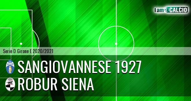 Sangiovannese 1927 - Siena 1904