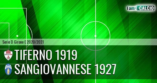 Tiferno 1919 - Sangiovannese 1927