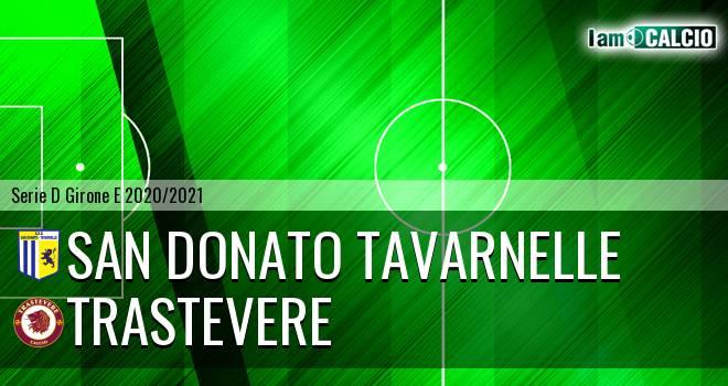 San Donato Tavarnelle - Trastevere