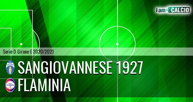 Sangiovannese 1927 - Flaminia