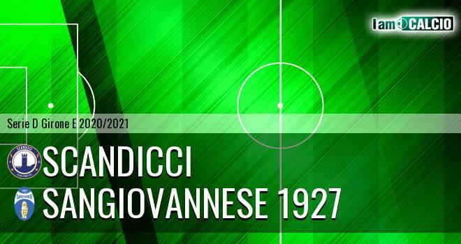 Scandicci - Sangiovannese 1927