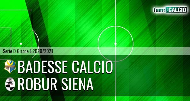 Badesse Calcio - Siena 1904