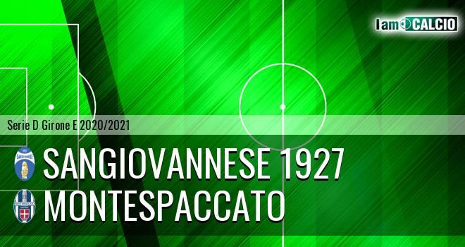Sangiovannese 1927 - Montespaccato