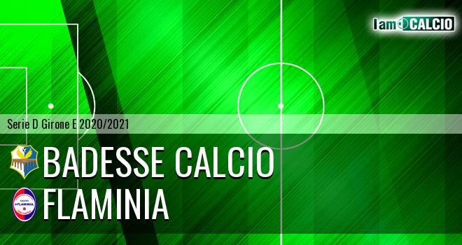 Badesse Calcio - Flaminia