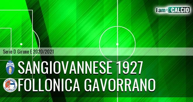 Sangiovannese 1927 - Follonica Gavorrano