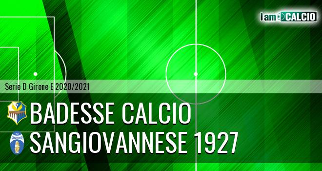 Badesse Calcio - Sangiovannese 1927