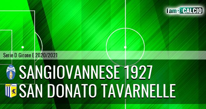 Sangiovannese 1927 - San Donato Tavarnelle