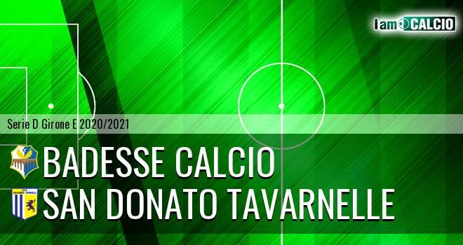 Badesse Calcio - San Donato Tavarnelle