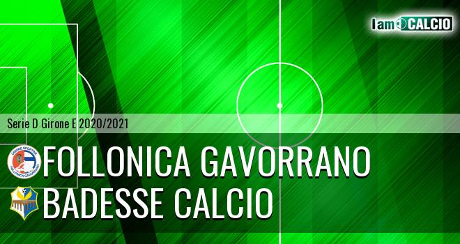Follonica Gavorrano - Badesse Calcio