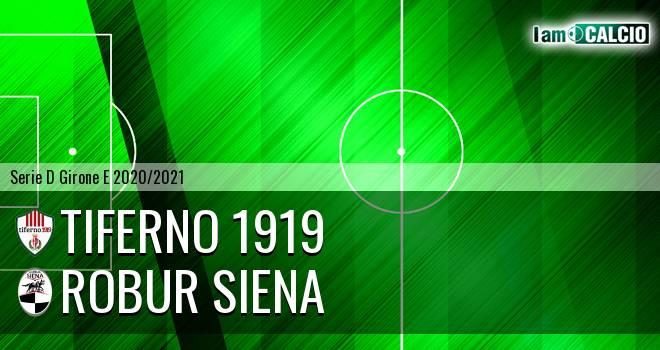Tiferno 1919 - Siena 1904