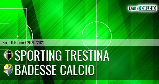 Sporting Trestina - Badesse Calcio