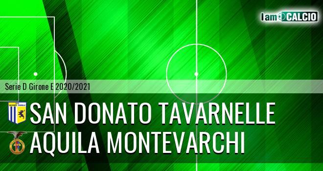 San Donato Tavarnelle - Aquila Montevarchi