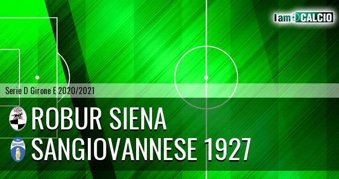 Siena 1904 - Sangiovannese 1927