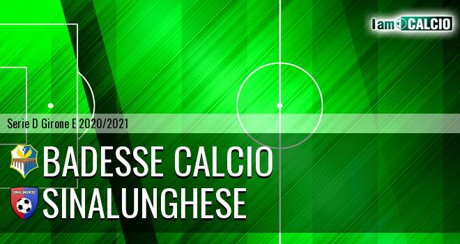 Badesse Calcio - Sinalunghese