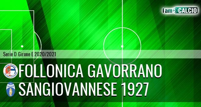 Follonica Gavorrano - Sangiovannese 1927