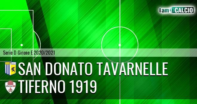 San Donato Tavarnelle - Tiferno 1919