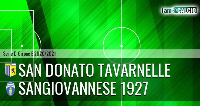 San Donato Tavarnelle - Sangiovannese 1927