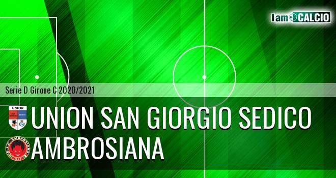 Union San Giorgio Sedico - Ambrosiana