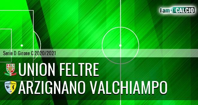 Union Feltre - Arzignano Valchiampo