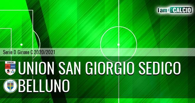 Union San Giorgio Sedico - Belluno