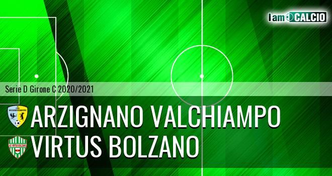 Arzignano Valchiampo - Virtus Bolzano