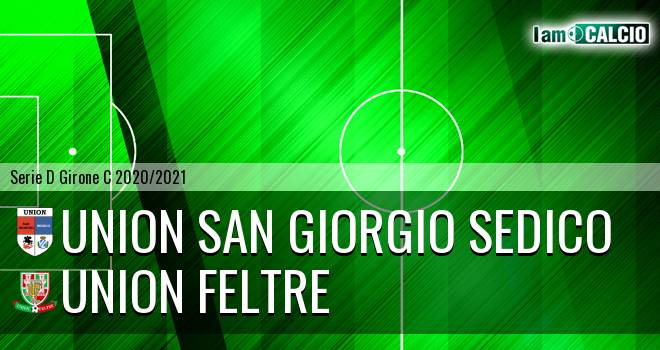 Union San Giorgio Sedico - Union Feltre