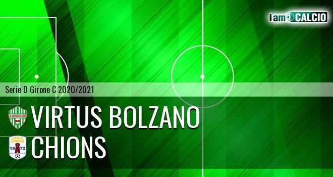 Virtus Bolzano - Chions