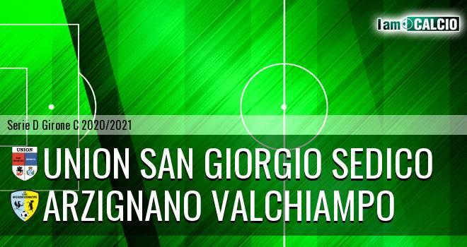 Union San Giorgio Sedico - Arzignano Valchiampo
