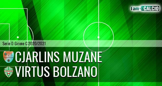 Cjarlins Muzane - Virtus Bolzano