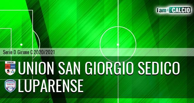Union San Giorgio Sedico - Luparense