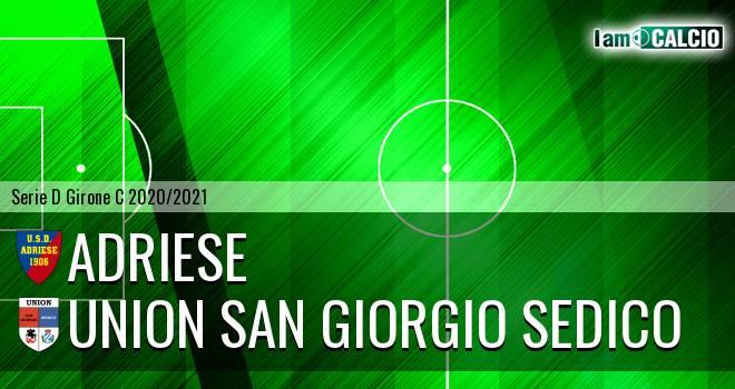 Adriese - Union San Giorgio Sedico