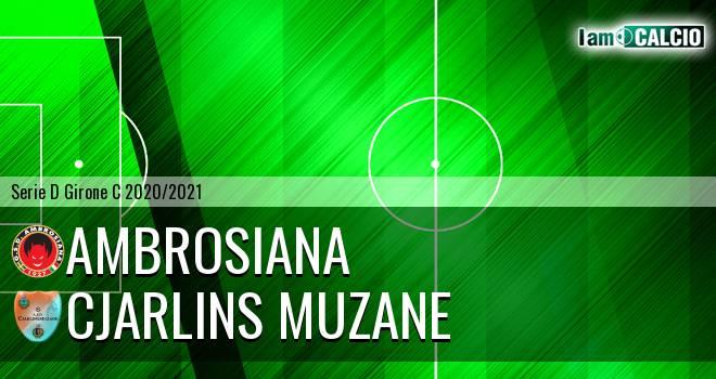 Ambrosiana - Cjarlins Muzane