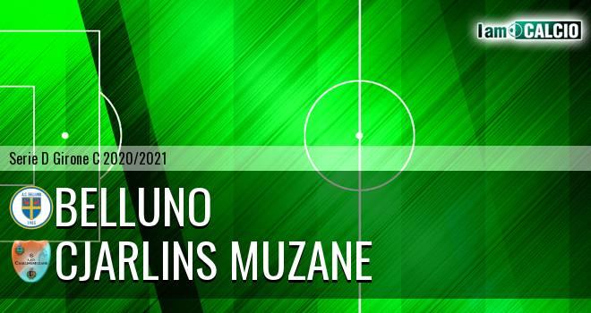 Belluno - Cjarlins Muzane