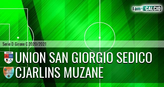 Union San Giorgio Sedico - Cjarlins Muzane