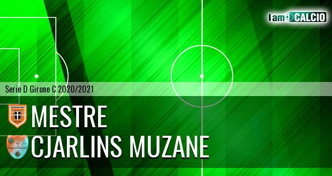 Mestre - Cjarlins Muzane