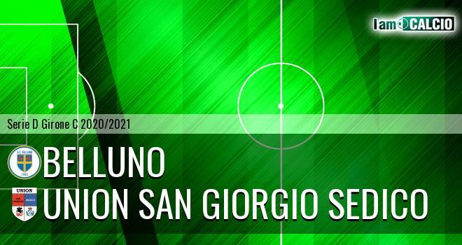 Belluno - Union San Giorgio Sedico