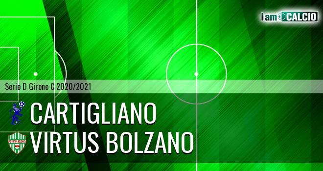 Cartigliano - Virtus Bolzano