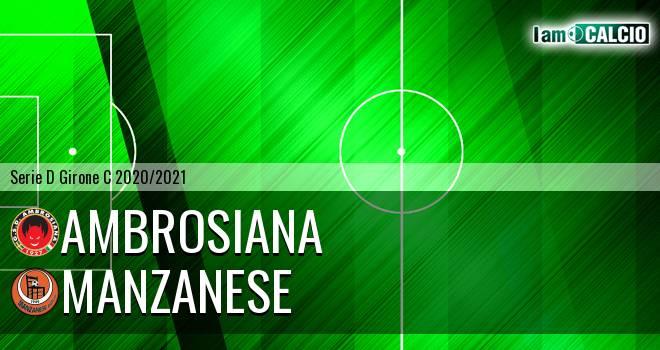 Ambrosiana - Manzanese