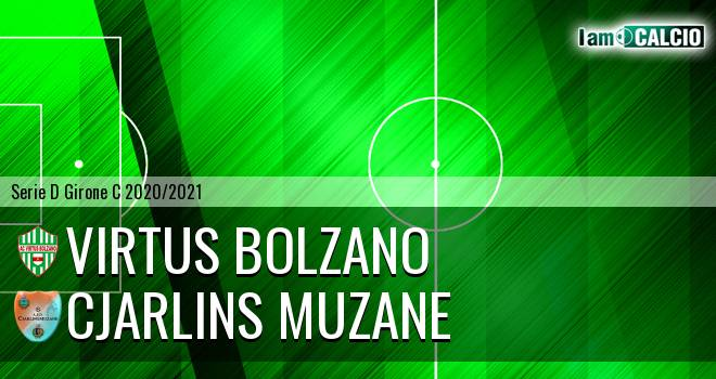 Virtus Bolzano - Cjarlins Muzane