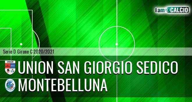 Union San Giorgio Sedico - Montebelluna