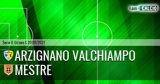 Arzignano Valchiampo - Mestre