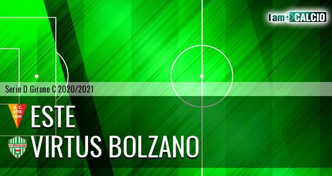 Este - Virtus Bolzano