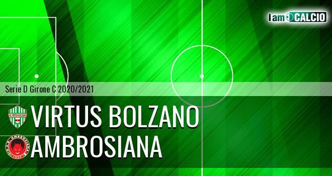 Virtus Bolzano - Ambrosiana