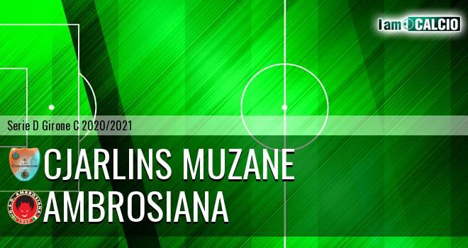 Cjarlins Muzane - Ambrosiana