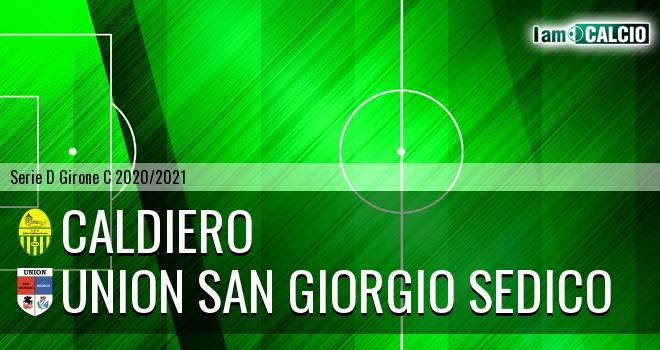Caldiero - Union San Giorgio Sedico