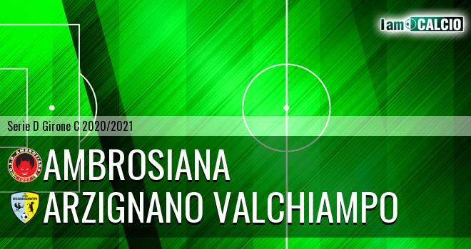 Ambrosiana - Arzignano Valchiampo